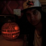 Julian Casablancas' Death Star Pumpkin