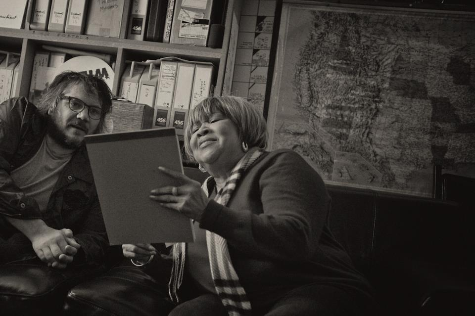 Mavis Staples Jeff Tweedy Spencer Tweedy
