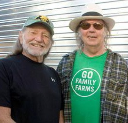 Neil Young Willie Nelson Long May You Run