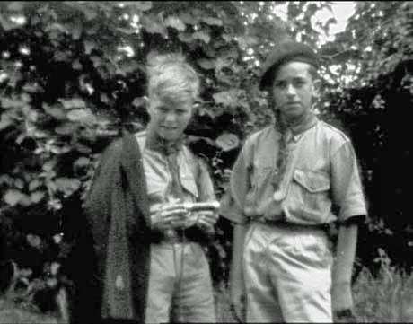 David Bowie Boy Scout