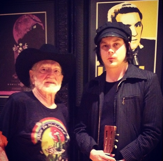 Jack White Willie Nelson