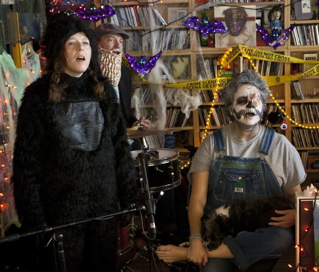 Neko Case Halloween Tiny Desk Concert
