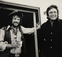 Johnny Cash Waylon Jennings